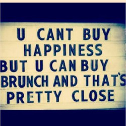 brunch happiness