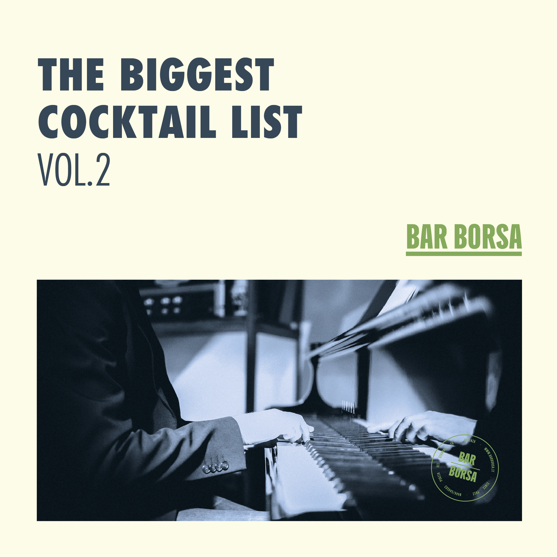 THE BIGGEST COCKTAIL LIST vol.2